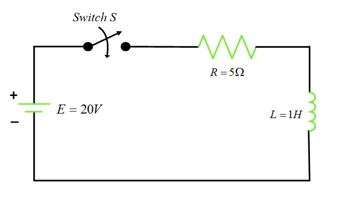 rl circuit time constant