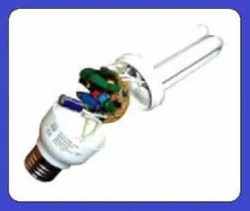 Inner PCB of CFL