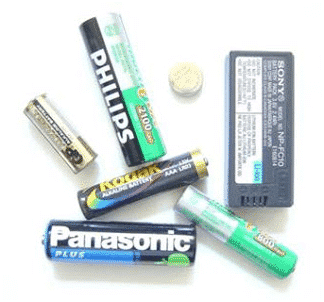 Battery front