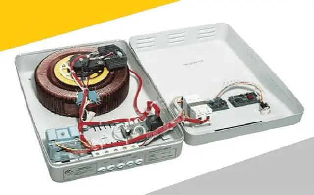 Inner View of Servo Based Voltage Stabilizer
