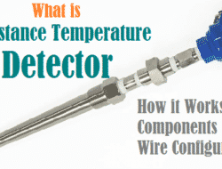 Resistance Temperature Detector, RTD – Component, Working, Application