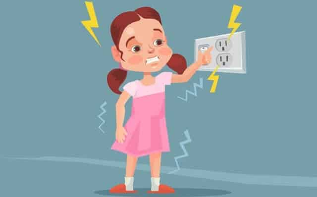 First Aid Treatment If a Minor Receives an Electric Shock