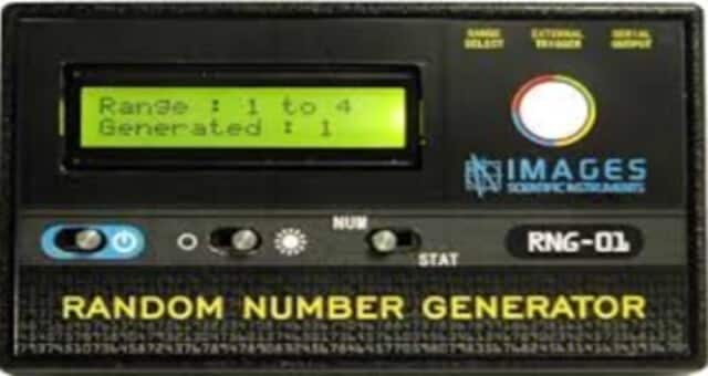 Physical View of Random Number Generator