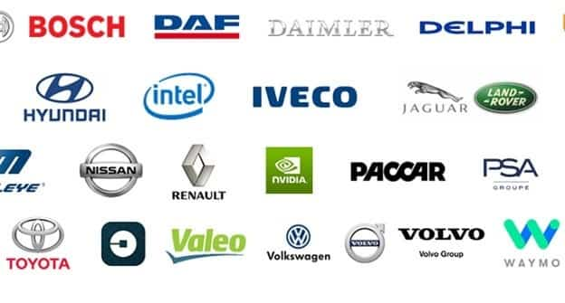 Companies investing in vehicle