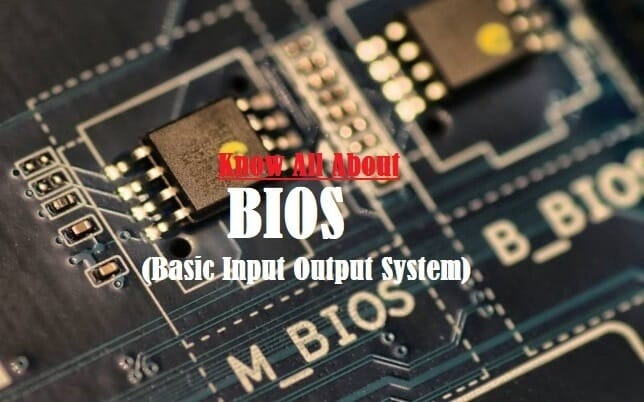 Introduction to BIOS