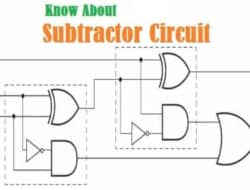 Subtractor Circuit – Half Subtractor, Full Subtractor & Applications