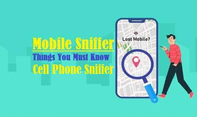 Cell Phone Sniffer (mobile Sniffer)