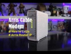 Arris Cable Modem | Arris Router Login – IP Address for Arris Modem Login