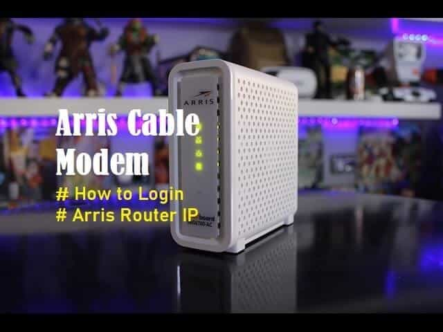 Introduction to Arris Cable Modem and Arris Router Login