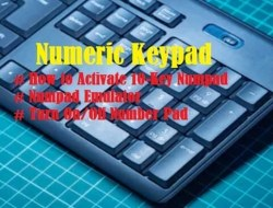 Numeric Keypad – How to Activate, Numpad Emulator, Fix Numpad Issues