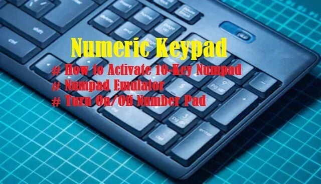 Intro to Numeric Keypad