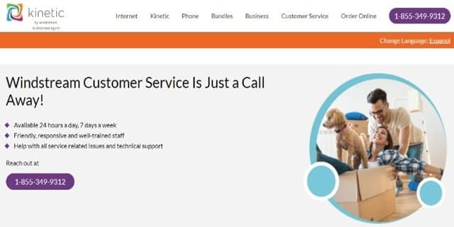 Windstream Support Page