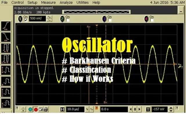 Introduction to Oscillator