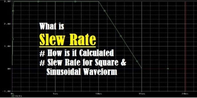 Introduction to Slew Rate