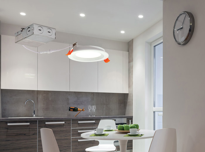 nora lighting introduces flin series thin regressed recessed luminaires electrical line magazine