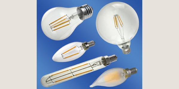LEDtronics New Filament-Style LED Bulbs Offer Vintage Look While Providing Huge Energy Savings