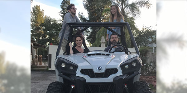 Walters' Customer Wins All-Terrain Vehicle in Walters/Lutron Promotion