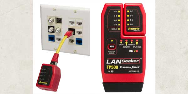 Platinum Tools Showcases New LanSeeker Cable Tester at 2017 NAB Show