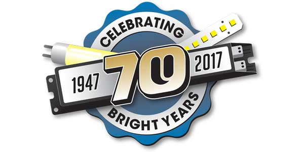 Universal Lighting Technologies Celebrates 70 Years in Business