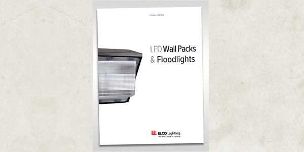 ELCO Announces New LED Wall Packs and Floodlights