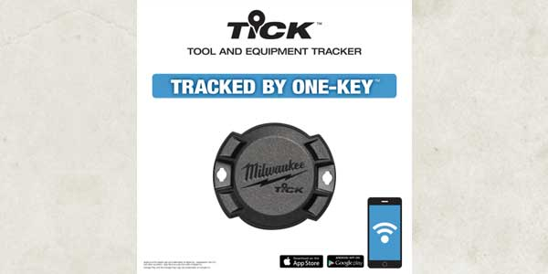 Milwaukee Announces the TICK Tool & Equipment Tracker