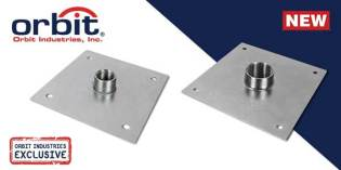 A New Way To Support Conduits On Roofs: Orbit's Roof Coupling Plates