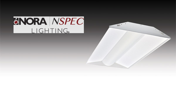Nora Lighting Center Basket Led Troffers Lower Energy Costs For Offices, Public Areas