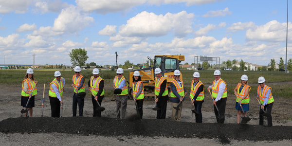 Border States Electric Breaks Ground On New Branch Support Center