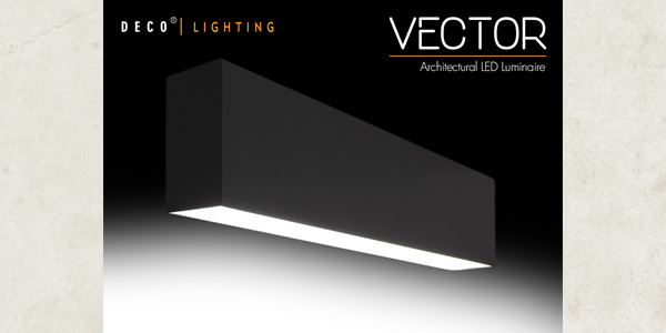 DECO Lighting's Vector Linear Architectural Luminaire Recognized in the 2017 Illuminating Engineering Society's Progress Report