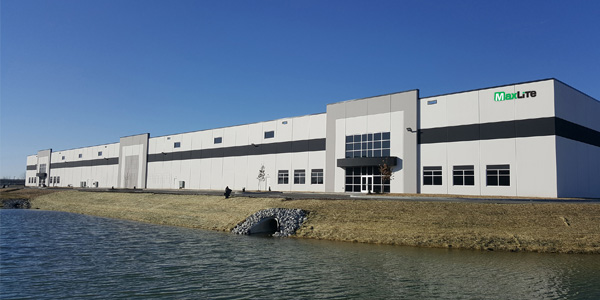 MaxLite Opens Distribution Center in Indiana