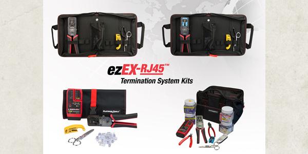 Platinum Tools Launches New ezEX-RJ45 Termination Kits