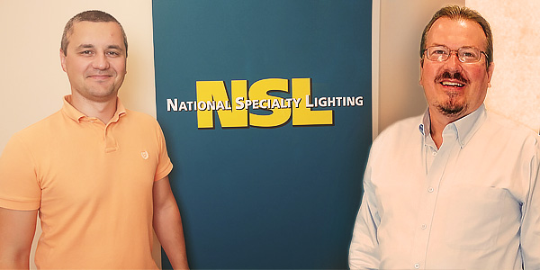 National Specialty Lighting Welcomes Allan Langvee and Adrian Andronic