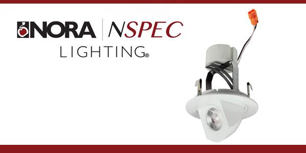 Nora Lighting's Cobalt LED Retrofit with Glide Adjustment Never Breaks Ceiling Plane