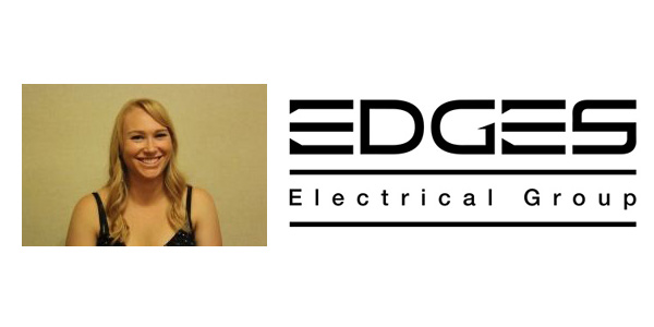 Ashley Springgay Promoted to Lighting Operations Manager of Edges Electrical