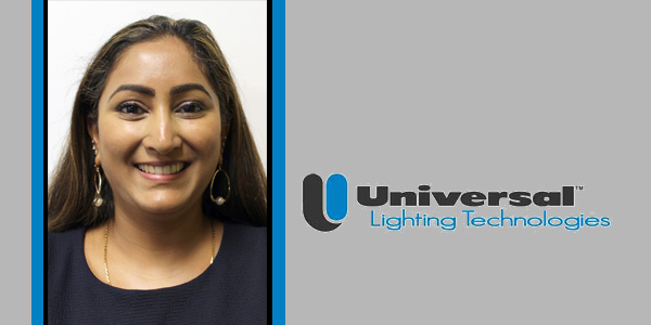 Swathi Bhamidipati Joins Universal Lighting Technologies as U.S. Western OEM Regional Sales Manager
