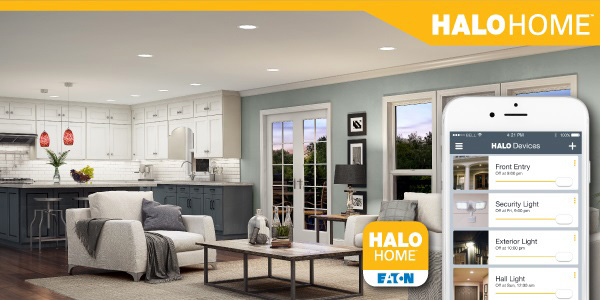 Eaton's Halo Home System Leverages Bluetooth Mesh for Easy Access