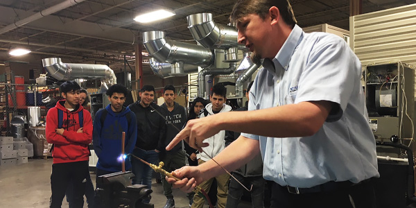 Hiller Plumbing, Heating, Cooling & Electrical Partners with John Overton High School to Provide Career Pathways to High School Students