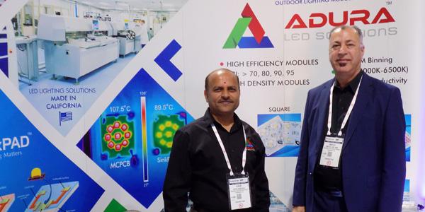 Adura LED Solutions - Kris Vasoya (left) Abdul Aslami (right)