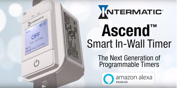 New Ascend Smart In-Wall Timer Delivers for Contractors