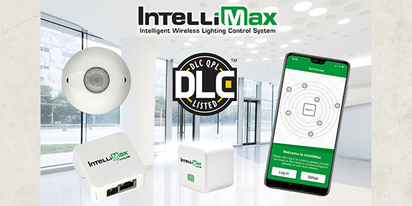 IntelliMax Networked Wireless Lighting Control System Receives DLC Qualification