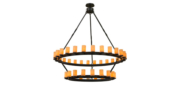 Meyda Custom Lighting Introduces Nozirhoh Ring Chandeliers