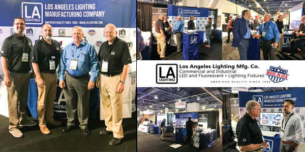 Los Angeles Lighting Mfg. Exhibits and Demonstrates Products at LightShow West
