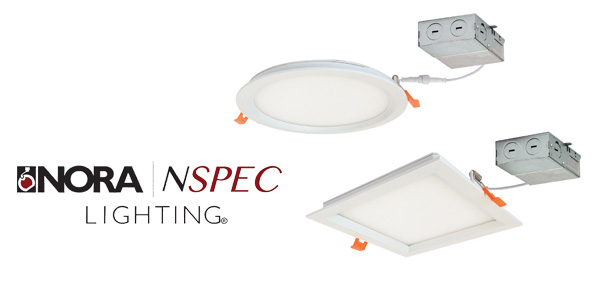 Nora Lighting Introduces FLIN Series, Thin Regressed, Recessed Fixtures