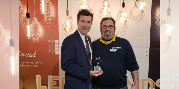 Bulbrite Annual Award Winners Shine Bright at Lightovation: Dallas International Lighting Show January 2019