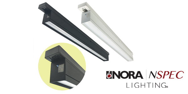 Nora Lighting Introduces T-Line LED Linear: Tunable Track for Sign, Aisle, Wall Lighting