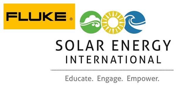 Fluke Supports Solar Energy International (SEI) as Industry Sponsor