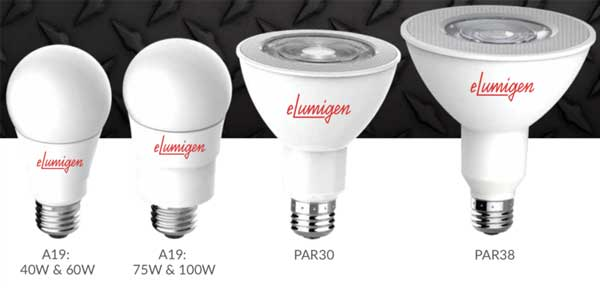 eLumigen LED Rough Service Lamps Are Now Tougher & Brighter
