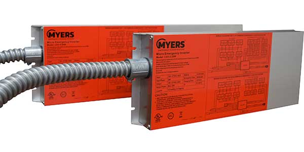 Myers Emergency Power Systems Introduces Micro Inverters for Emergency Lighting