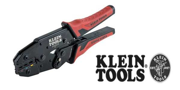 Klein Tools Ratcheting Crimper Increases Crimping Power for All-Day Success