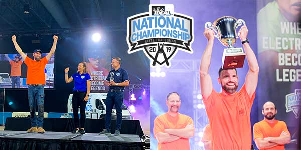 Top Electricians Compete in 4th Annual Ideal National Championship in Orlando Florida